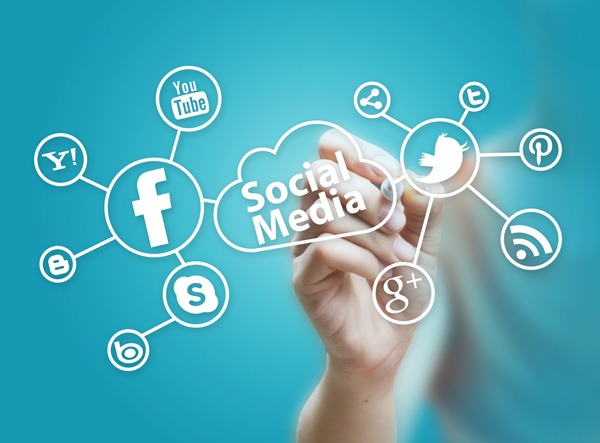 social media advertisement to increase site traffic