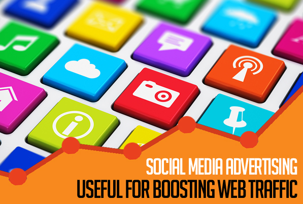 Social Media Advertising is Useful for Boosting Web Traffic