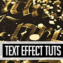 Post thumbnail of 23 Creative Text Effect Photoshop & Illustrator Tutorials