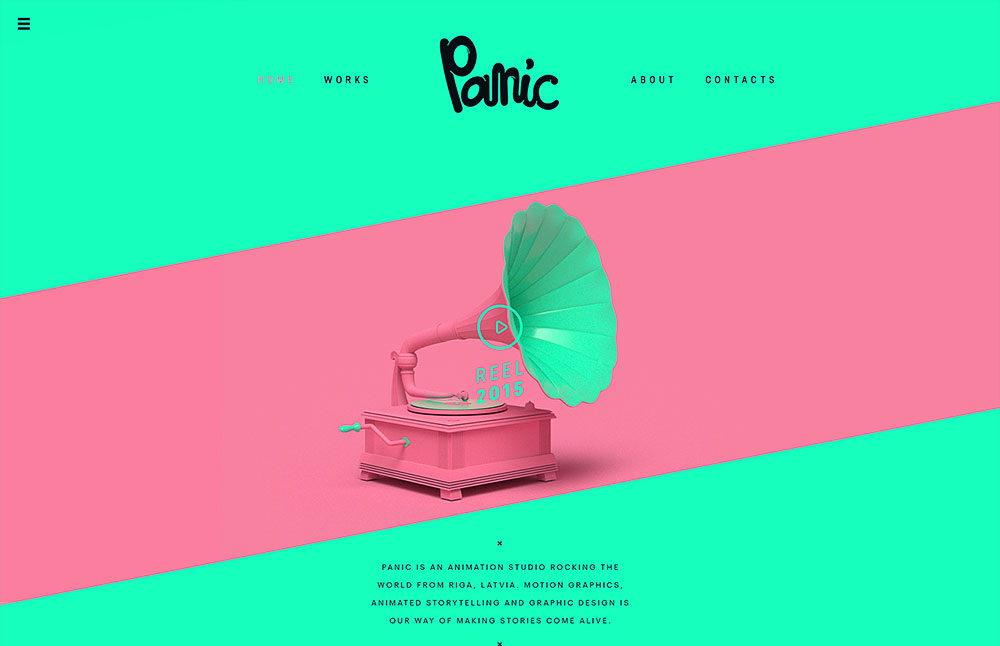 2015 Trendy Web Design Examples Web Design Graphic