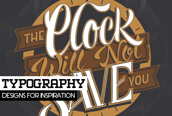 25 Remarkable Typography, Lettering & Calligraphy Designs