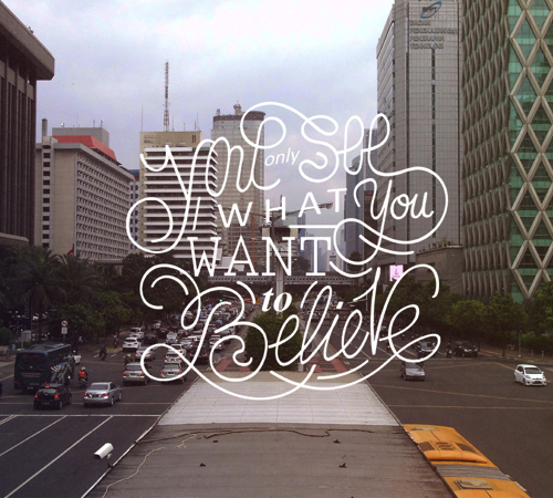Remarkable Lettering and Typography Designs for Inspiration - 12