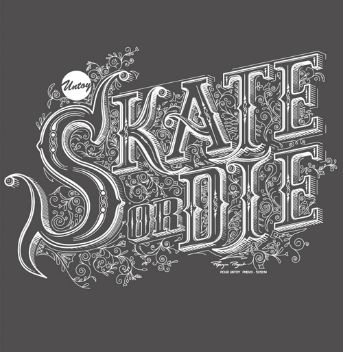 Remarkable Lettering and Typography Designs for Inspiration - 17
