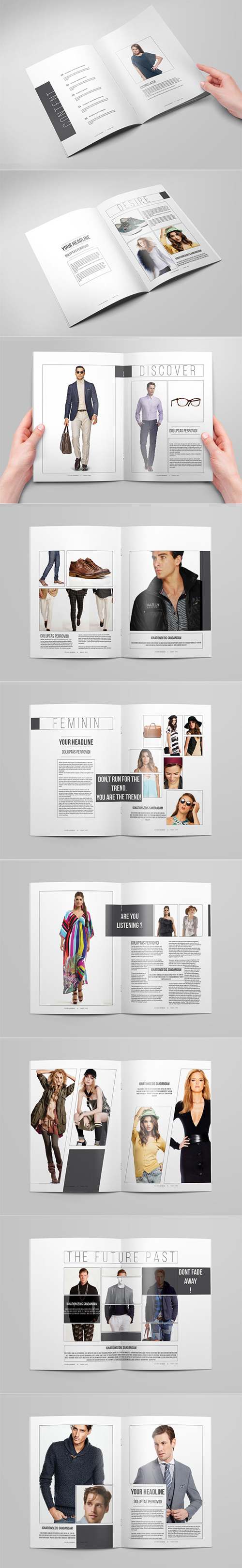 Fashion Catalog / Brochure Template