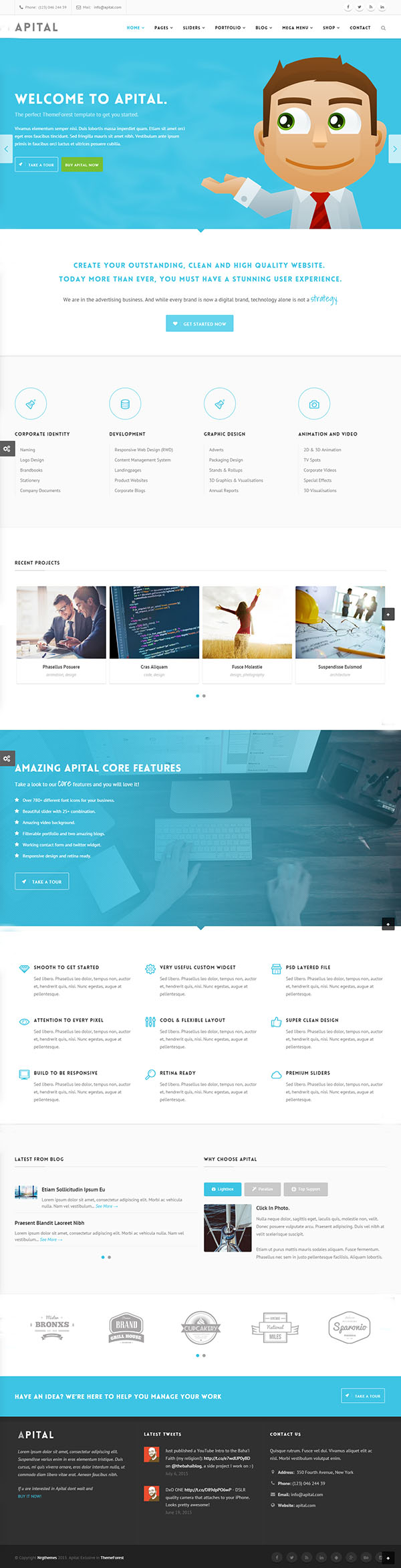 Apital - Multi-Purpose Business WordPress Theme