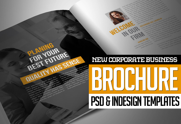 New Corporate Business Brochures Design – Business Brochure Design