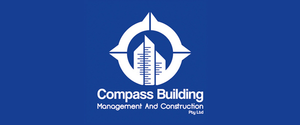 Compass Building Brand Logo Design