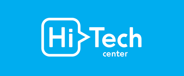 HiTech Center Brand Logo Design