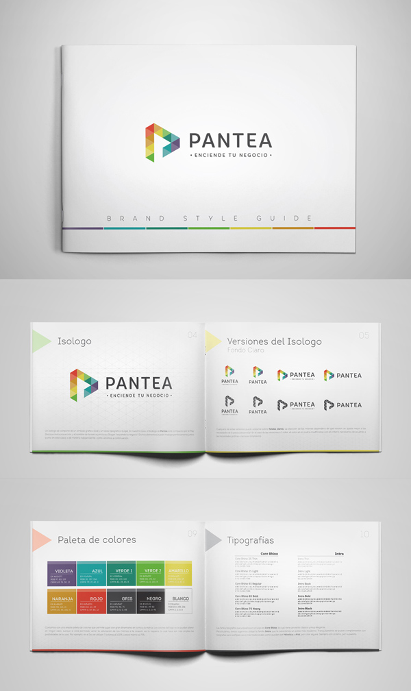 Pantea Brochure Design