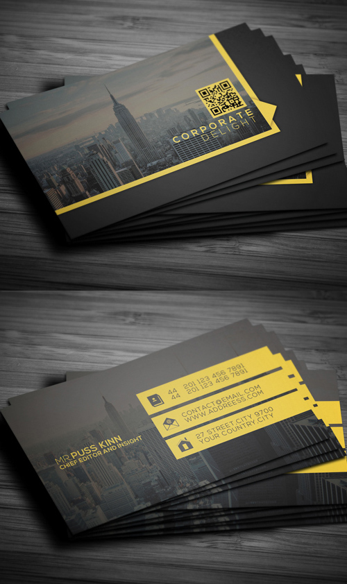 Business Cards Design: 50+ Amazing Examples to Inspire You - 19