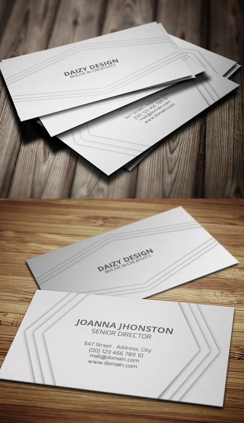 Business Cards Design: 50+ Amazing Examples to Inspire You - 28