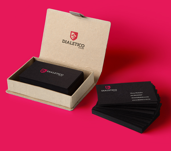 Dialetico Business Card Design