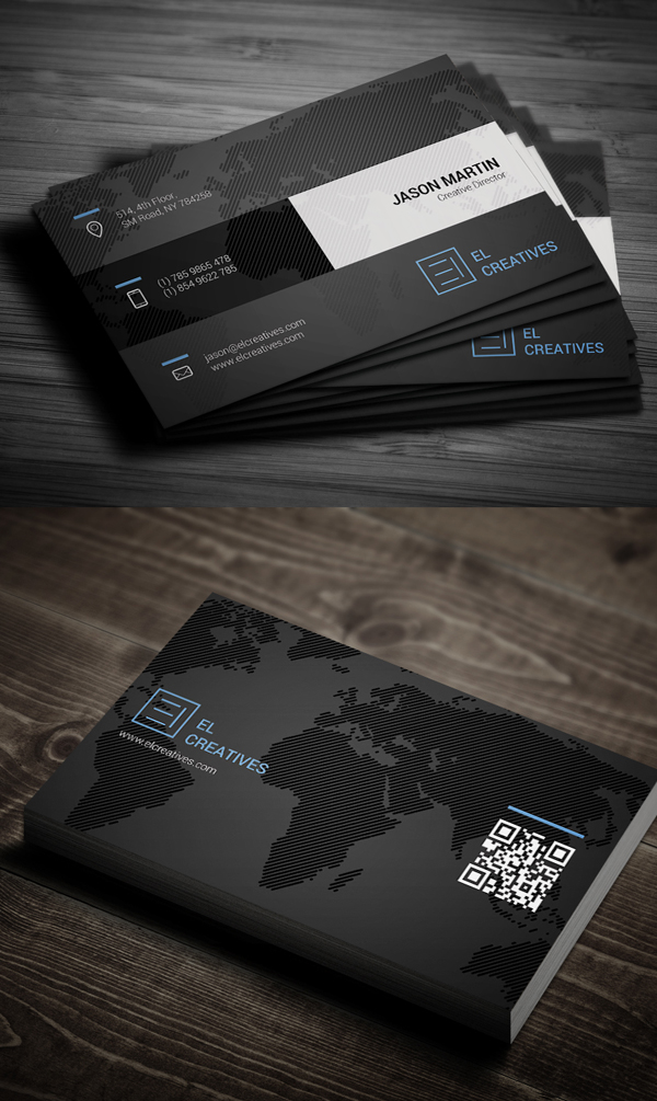 New Corporate Business Card Templates
