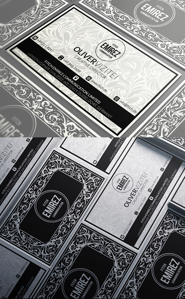 Business Cards Design: 50+ Amazing Examples to Inspire You - 49