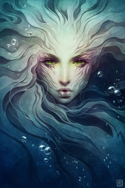 Remarkable Digital Illustration artwork by Anna Dittmann