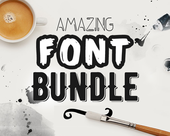 Amazing Font Bundle for Designers (23 New Fonts)
