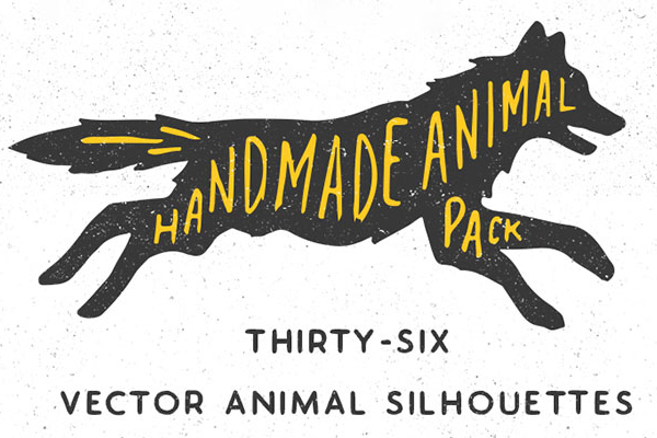 Handmade Animals Silhouette Pack