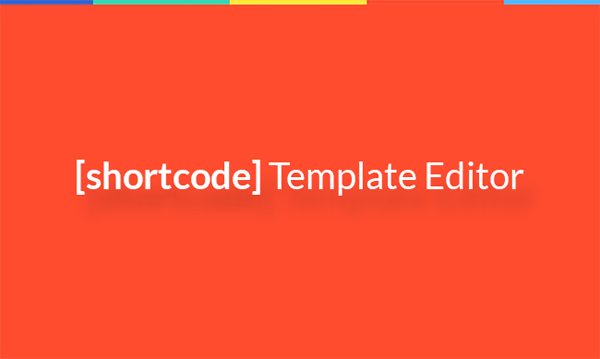 Monstroid shortcode template editor