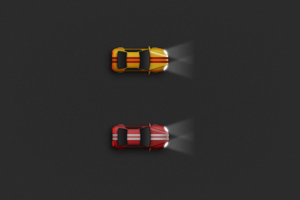 Create a Racing Car Illustration in Adobe Photoshop