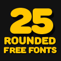Post Thumbnail of 25 Free Rounded Fonts for Designers