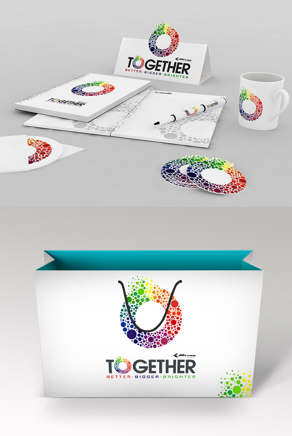 ToGether Stationery Design