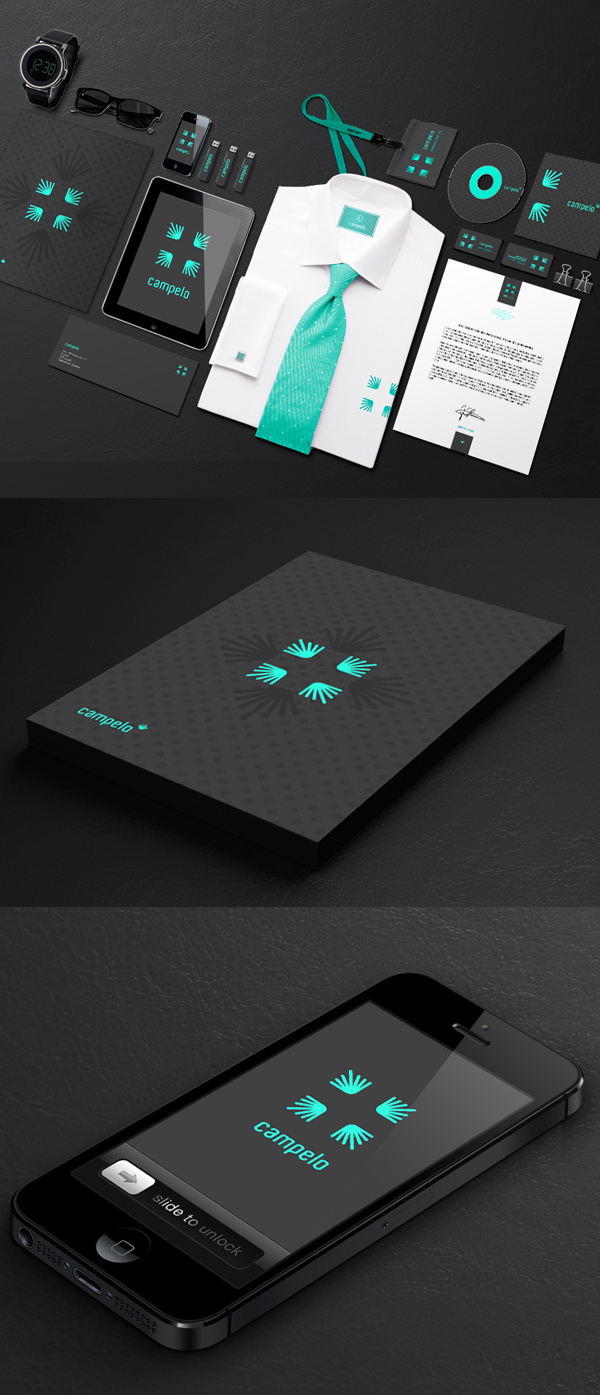 Campelo Stationery Design