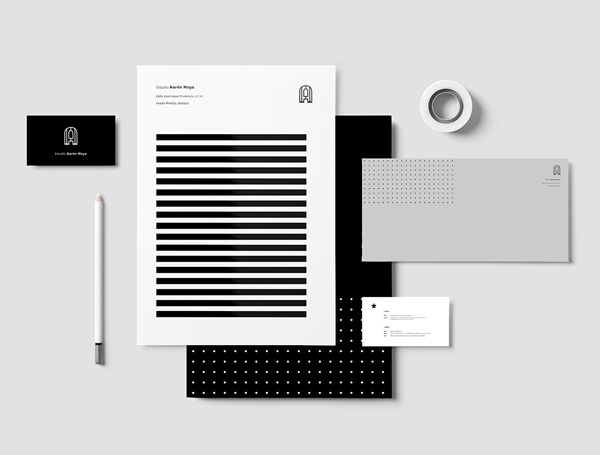 Aaron Moya Stationery Design