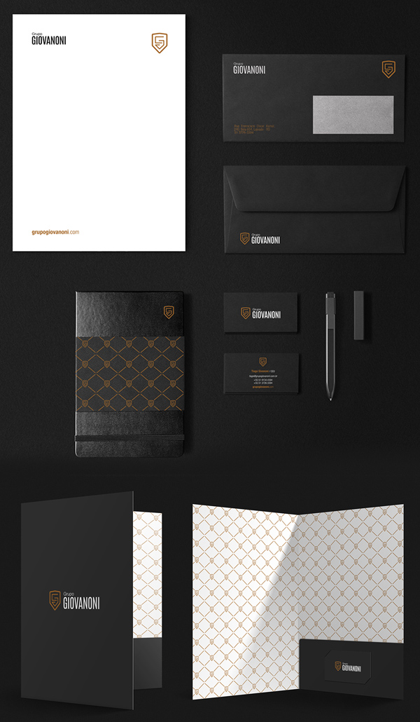 Grupo Giovanoni Stationery Design