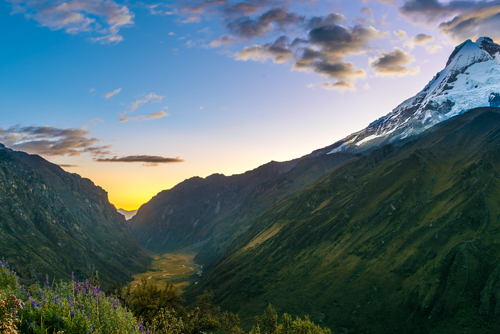 Peruvian Mountains  Landscape photography