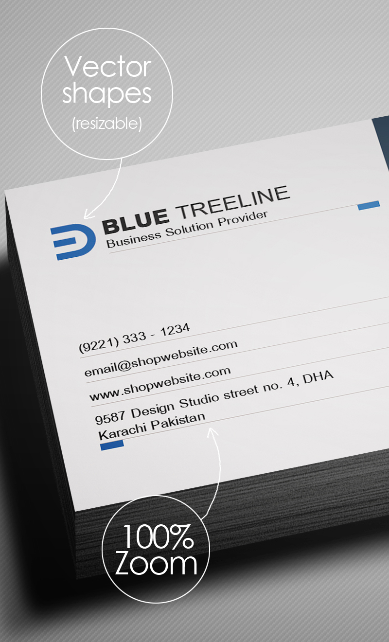 Modern Corporate Business Card Preview - 5