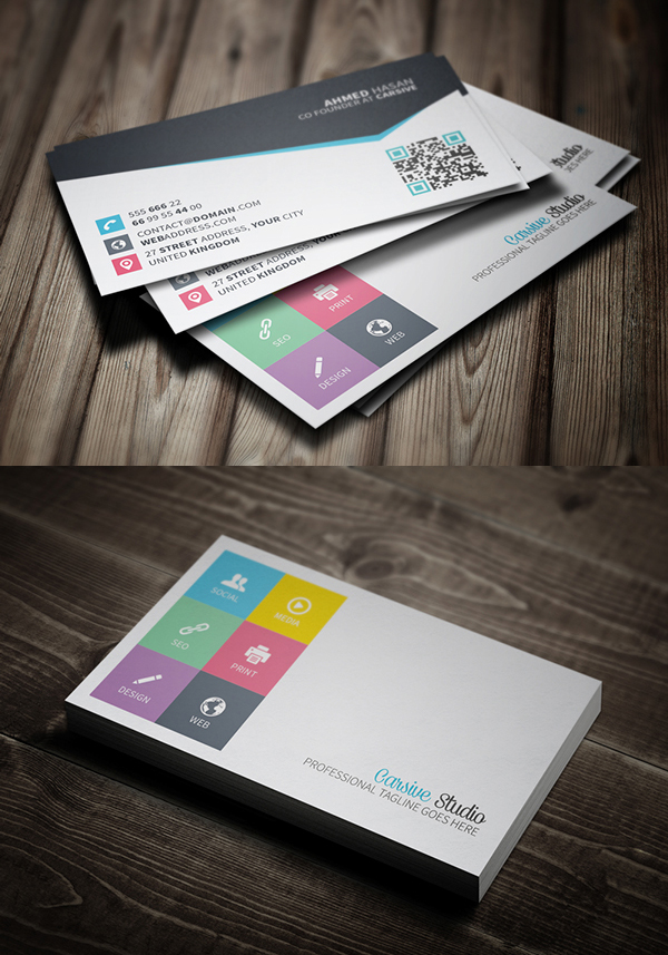 Business Cards Design: 25 Creative Examples - 10