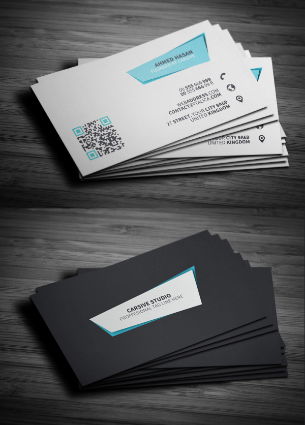 25 Creative Business Cards Designs Examples for Inspiration ...