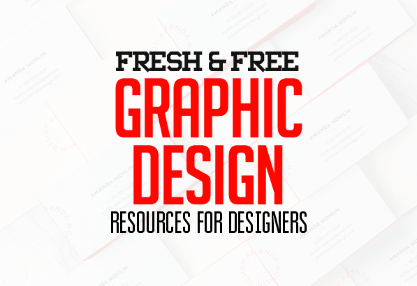 Fresh Free Graphic Design Resources for Designers
