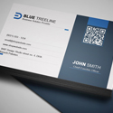 Post thumbnail of Free Modern Business Card PSD Template