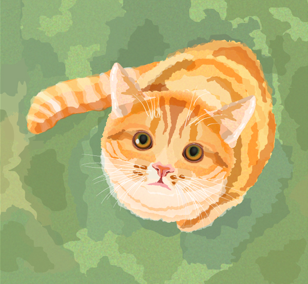 Create a Watercolor Cat in Adobe Illustrator Tutorial