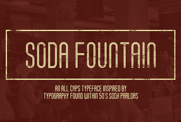 Soda Fountain Free Font