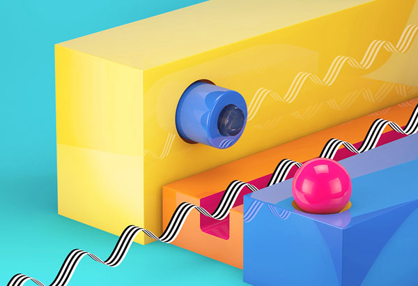 Maxon Cinema 4D tutorial: Create bright, shiny textures in Cinema 4D