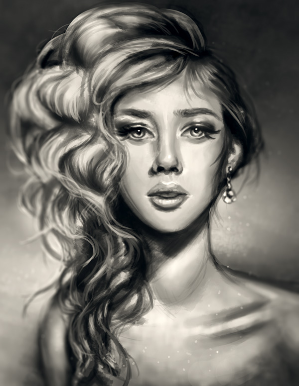 Create Digital Portrait Painting in Adobe Photoshop