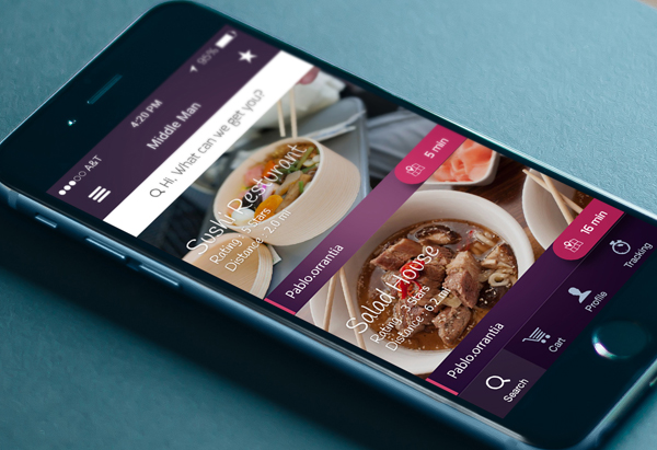 responsive mobile layout