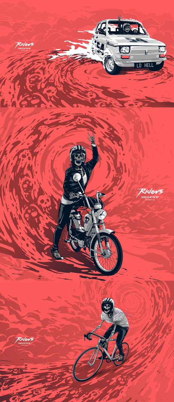 Riders by Fuse Collective
