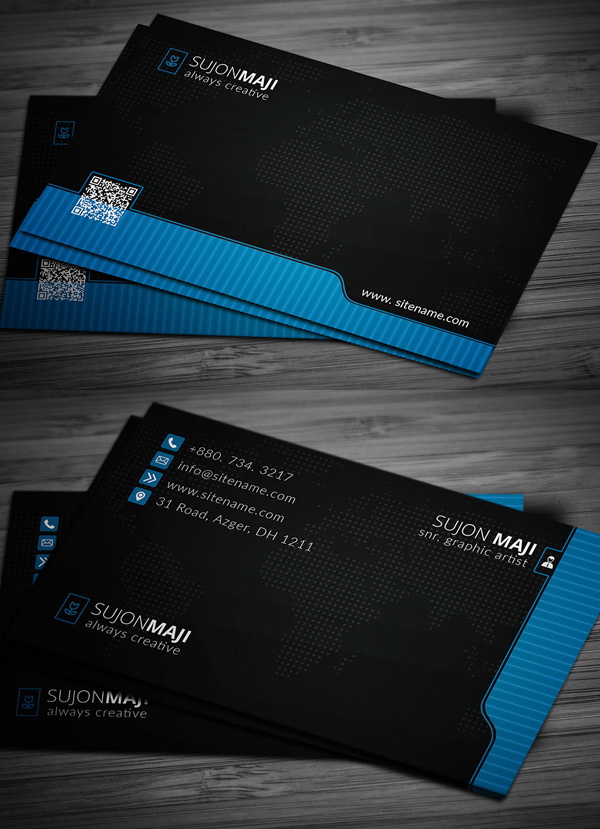 Business Cards Design: 50+ Amazing Examples to Inspire You - 48