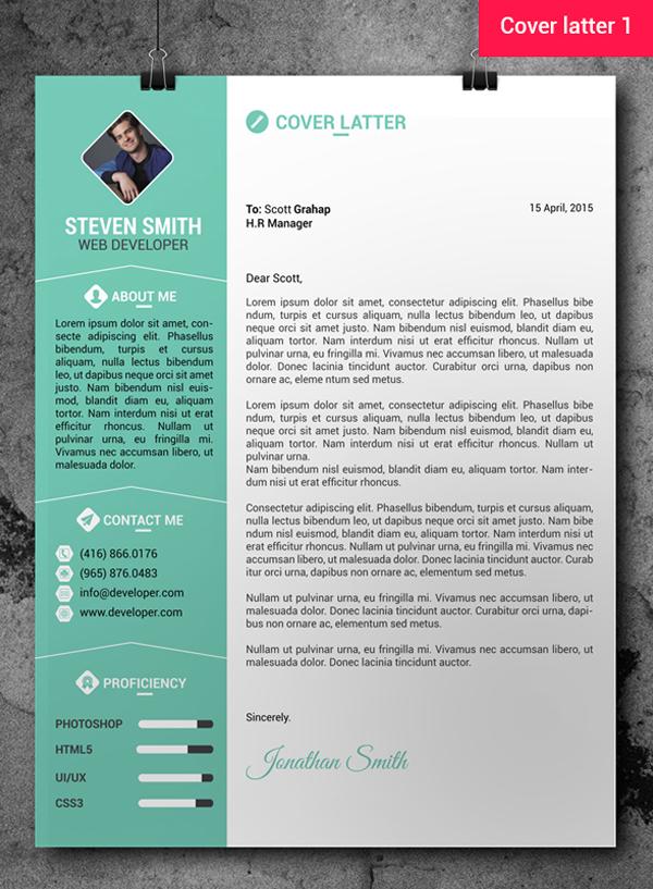 Resume Design Psd Free Download
