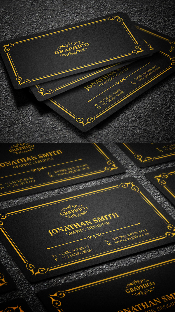 Business Cards Design: 50+ Amazing Examples to Inspire You - 47