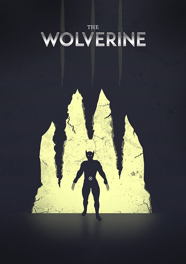 Marvel Superhero Silhouettes by Jason Stanley