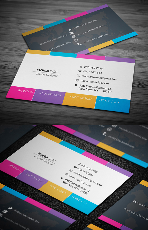 Image Result For Examples Of Graphic Design Business Cardsa