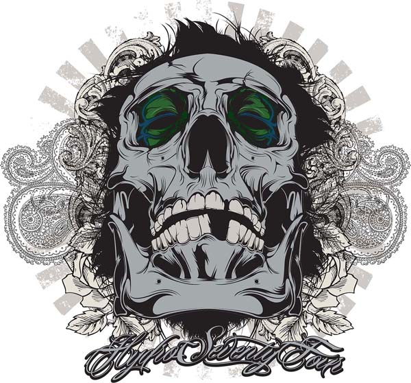 Create Awesome Vector Skull Art in Adobe Illustrator Tutorial