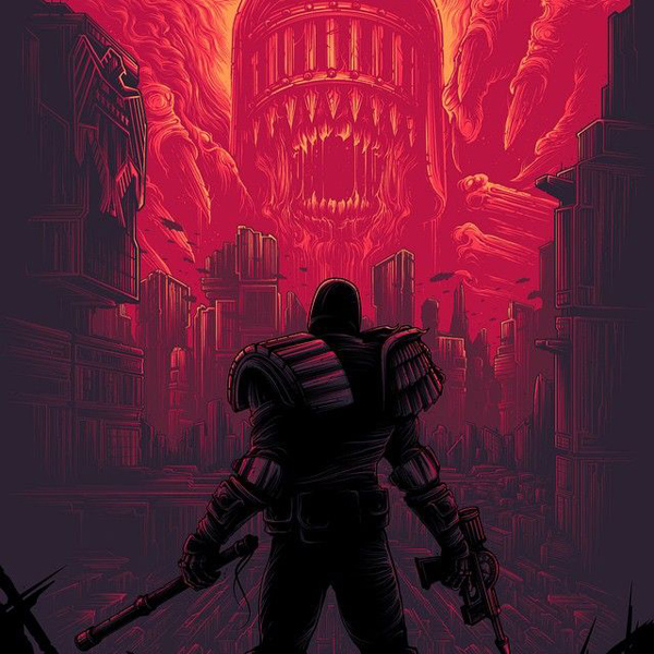 Mega City One by Dan Mumford