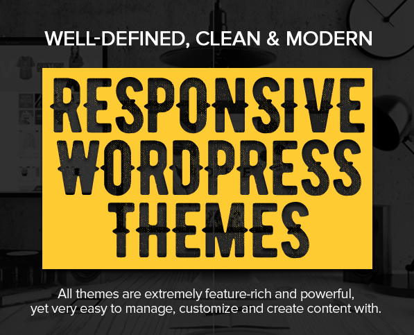 20 New Professional Responsive WordPress Themes