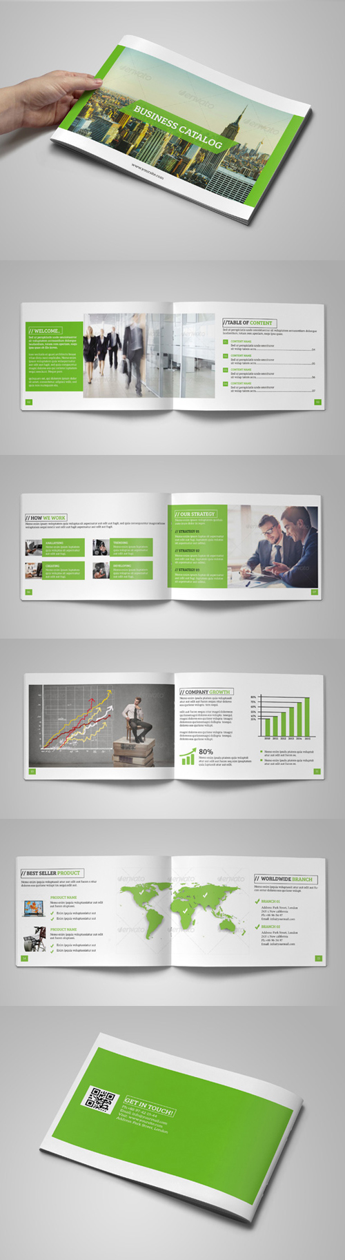 Business Catalog/ Brochure Template