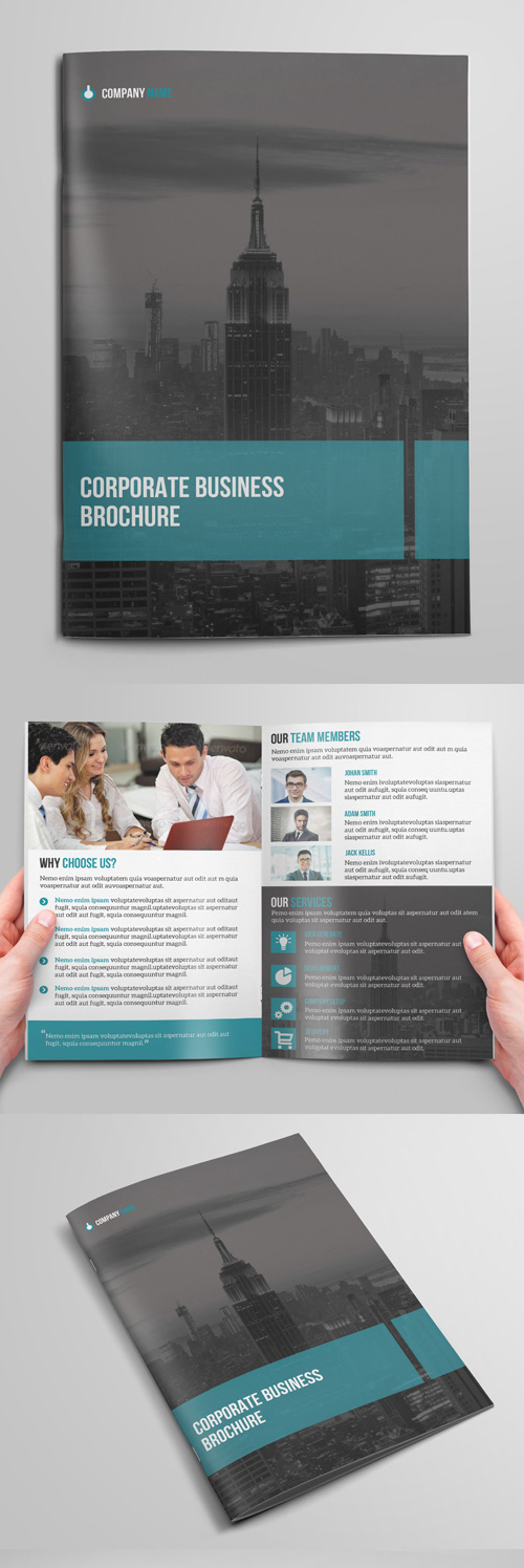 Bi- Fold Brochure Design for Corporate Business